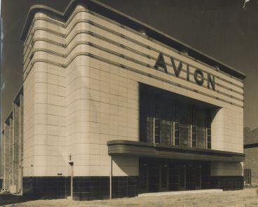 The Avion super Cinema De-Lux in Aldridge Walsall west midlands during construction