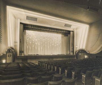 The Avion super Cinema De-Lux in Aldridge Walsall west midlands 1000 seat main theatre