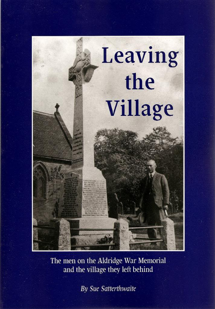Buy your copy of Leaving the village from Aldridge website