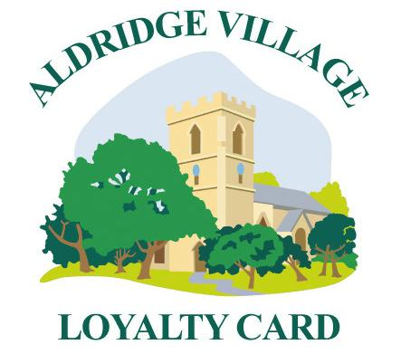 Aldridge Village Loyalty card for discounts and special offer on shopping goods and business services offered in Aldridge village