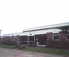 Aldridge magistrates court buildings in Aldridge in the present vacant state
