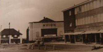 The Avion super Cinema De-Lux in Aldridge Walsall west midlands in 1969