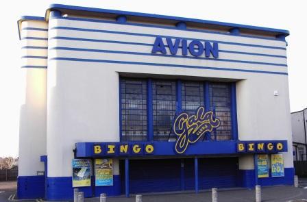 The Avion super Cinema De-Lux in Aldridge Walsall west midlands as a Gala bingo hall untill closure in September 2009