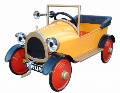 All Steel Construction Children S Brum Pedal Car Classic Kids