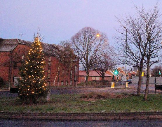 festive welcome in Aldridge thanks to the generosity of local Aldridge company, Pascon Limited.