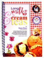 Buy your copy of Long Walks & Cream Teas by Karen Ross from Aldridge website