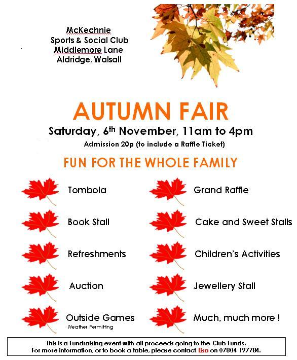Aldridge fair in Walsall west midlands