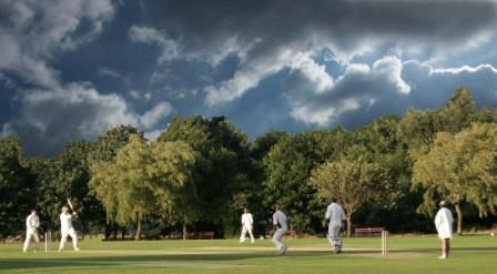 Aldridge Cricket Club pitch in Walsall west midlands uk, courtesy of Graham Garbett copyright Aldridge website