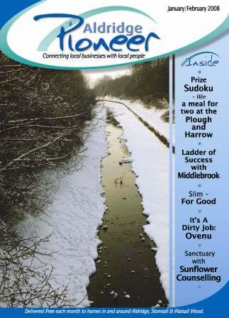 January 2008 Edition of Aldridge Pioneer Magazine