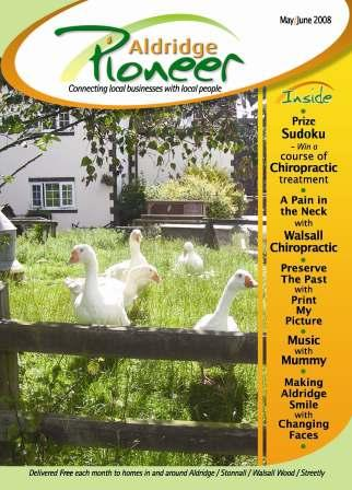 May 2008 Edition of Aldridge Pioneer Magazine