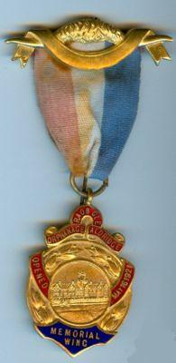 Aldridge Orphanage jewel medal commemorating the opening of Aldridge Orphanage  Memorial Wing.