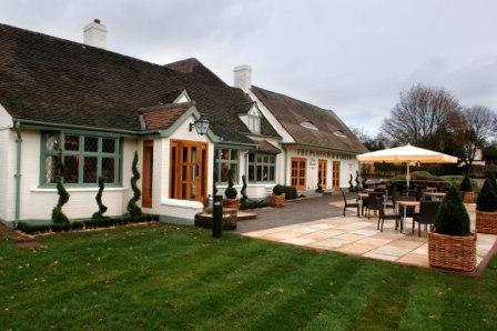 The Plough and Harrow restaurant in Aldridge