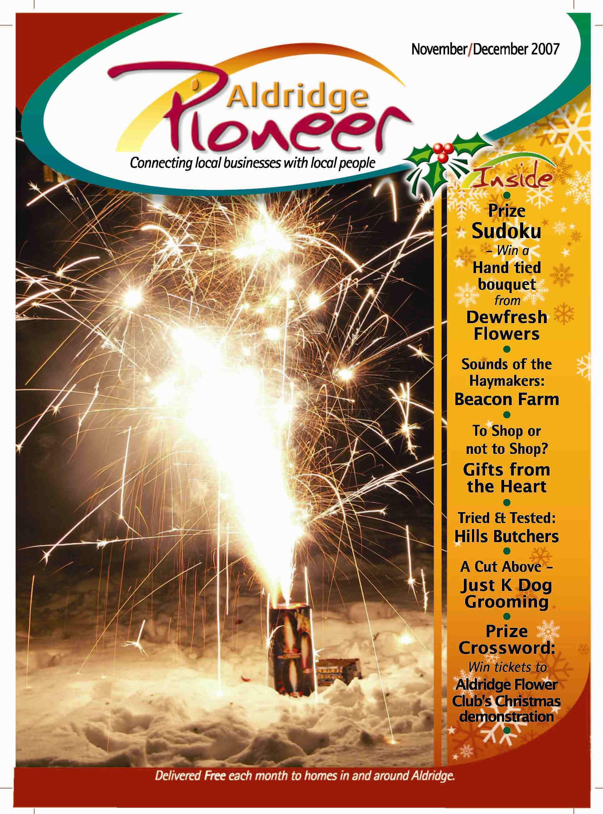 November 2007 Edition of Aldridge Pioneer Magazine