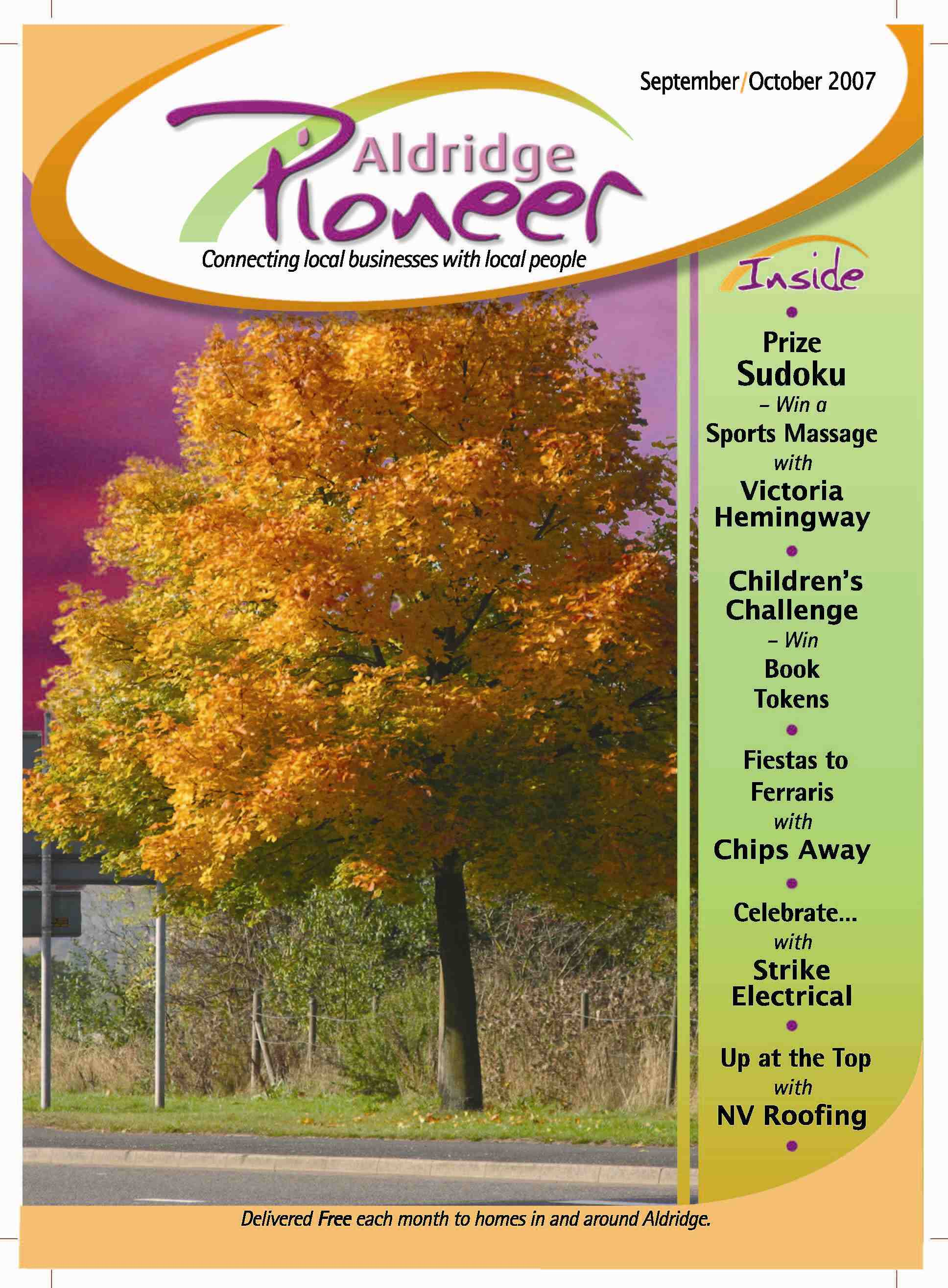 September 2007 Edition of Aldridge Pioneer Magazine