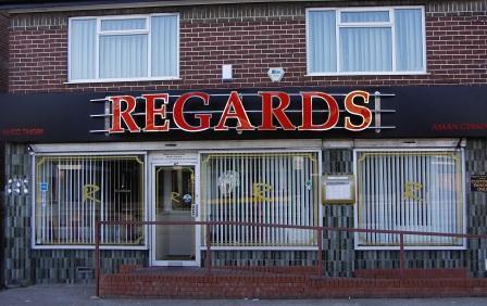 Regards Indian Restaurant Aldridge