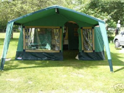 ... awning that fits between the cabin and the standard awning (usually sold seperately when bought new) which makes this a very large trailer tent with ... & VW camper van transprter u0026 Trailor tent for sale in Aldridge
